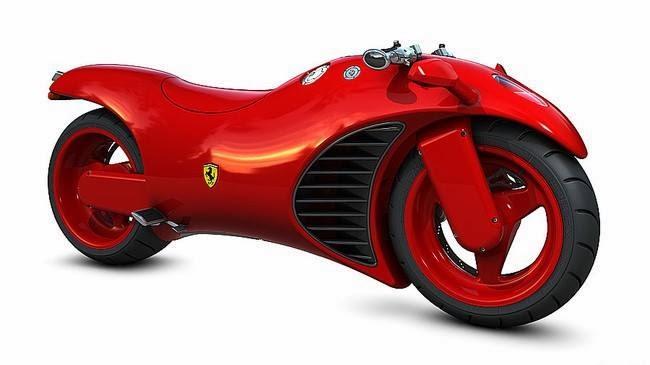 Ferrari Motorcycle