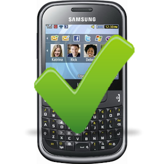 Bueno Positivo Samsung Chat 335