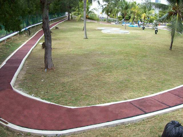 Decoration Bicycle Jogging And Hiking Trail