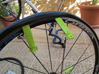 Quitar el neumatico de la bici