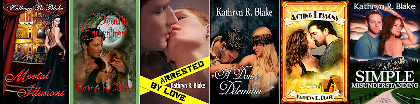 Kathryn's Current Novels