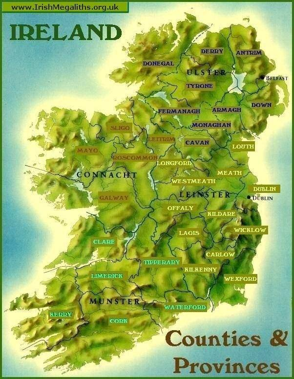 the geography and politics of ireland