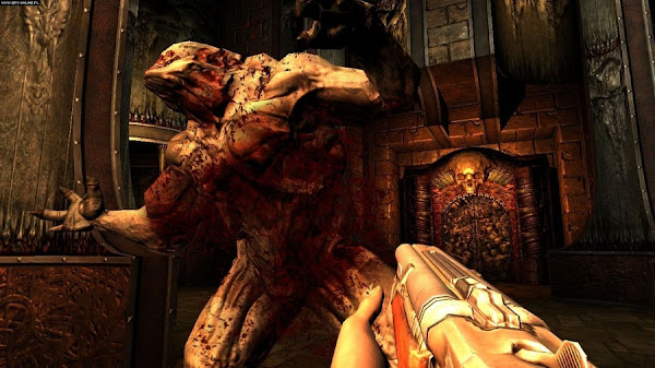 Screen Shot Of Doom 3 (2012) Full PC Game Free Download At Downloadingzoo.Com