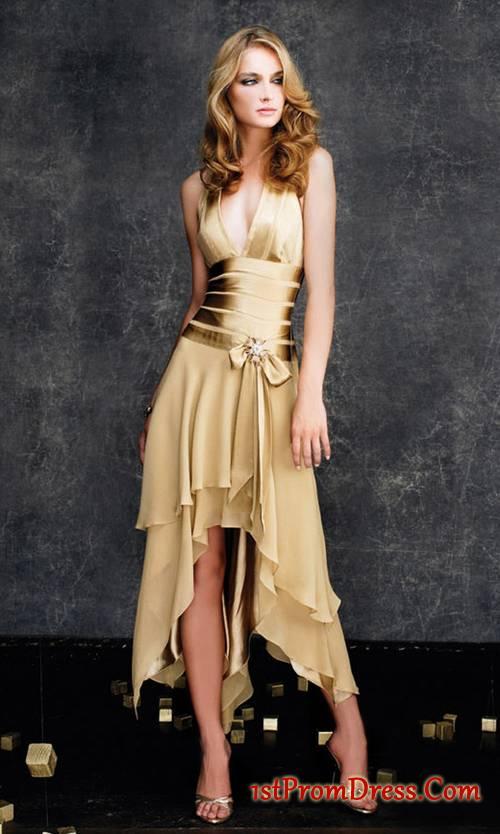 golden dress: