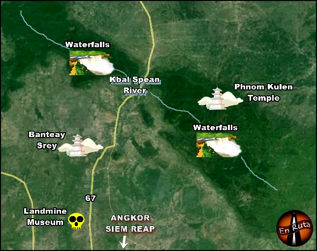 map-Phnom-Kulen-National-Park