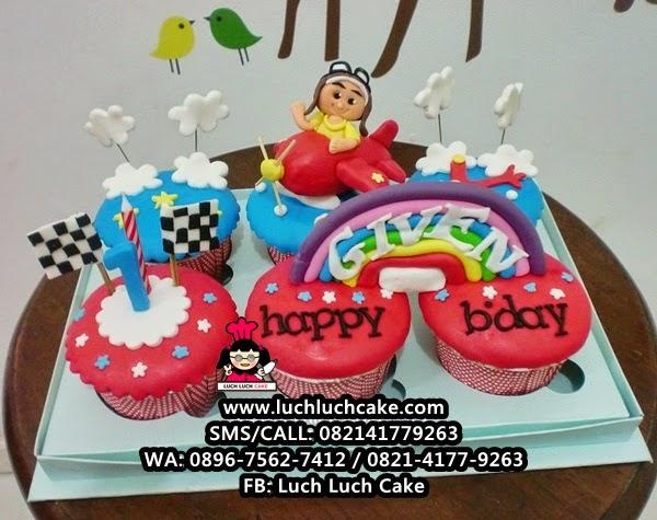 Cupcake Pesawat Daerah Surabaya - Sidoarjo