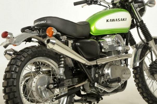 Kawasaki W800 Scrambler By Earnshaws Motorcycles Foto Caferacercultgr