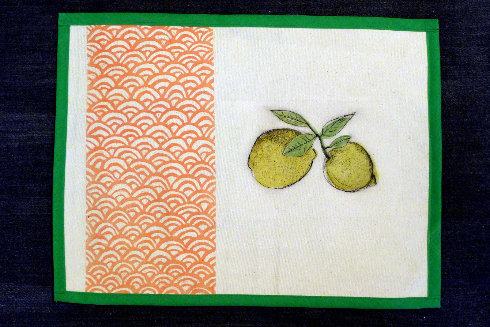 Piedra papel y tijera manteles individuales con grabados originales - Manteles originales ...