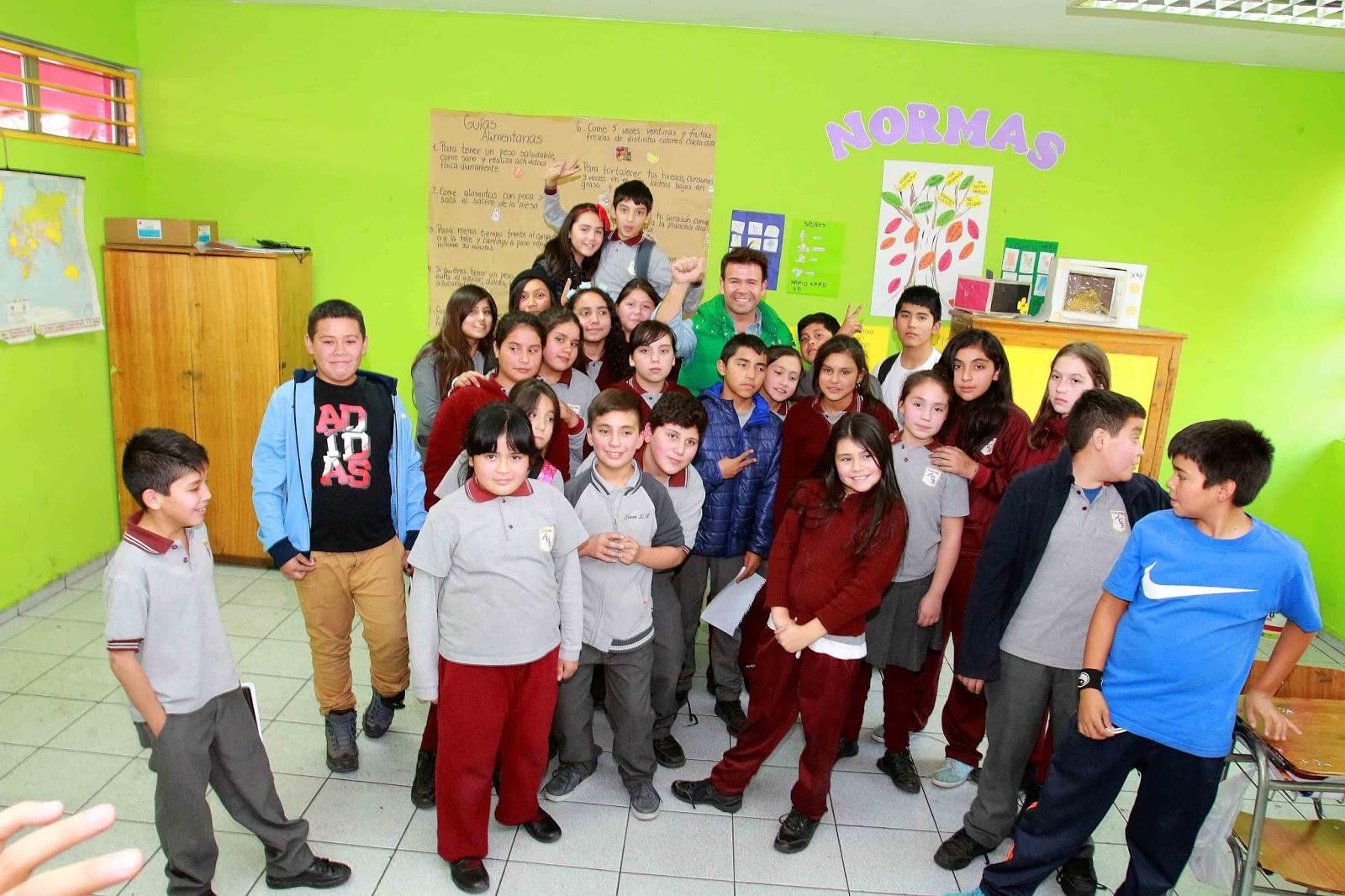 Periodistas AGB: Periodista Ignacio Gutiérrez visitó a niños de la ...