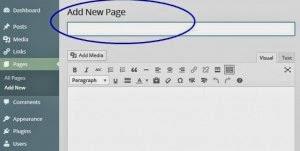 Cara Membuat Link Page Menuju Blog Lain
