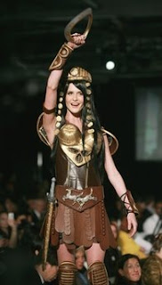 Xena at the 11th New York Chocolate Show