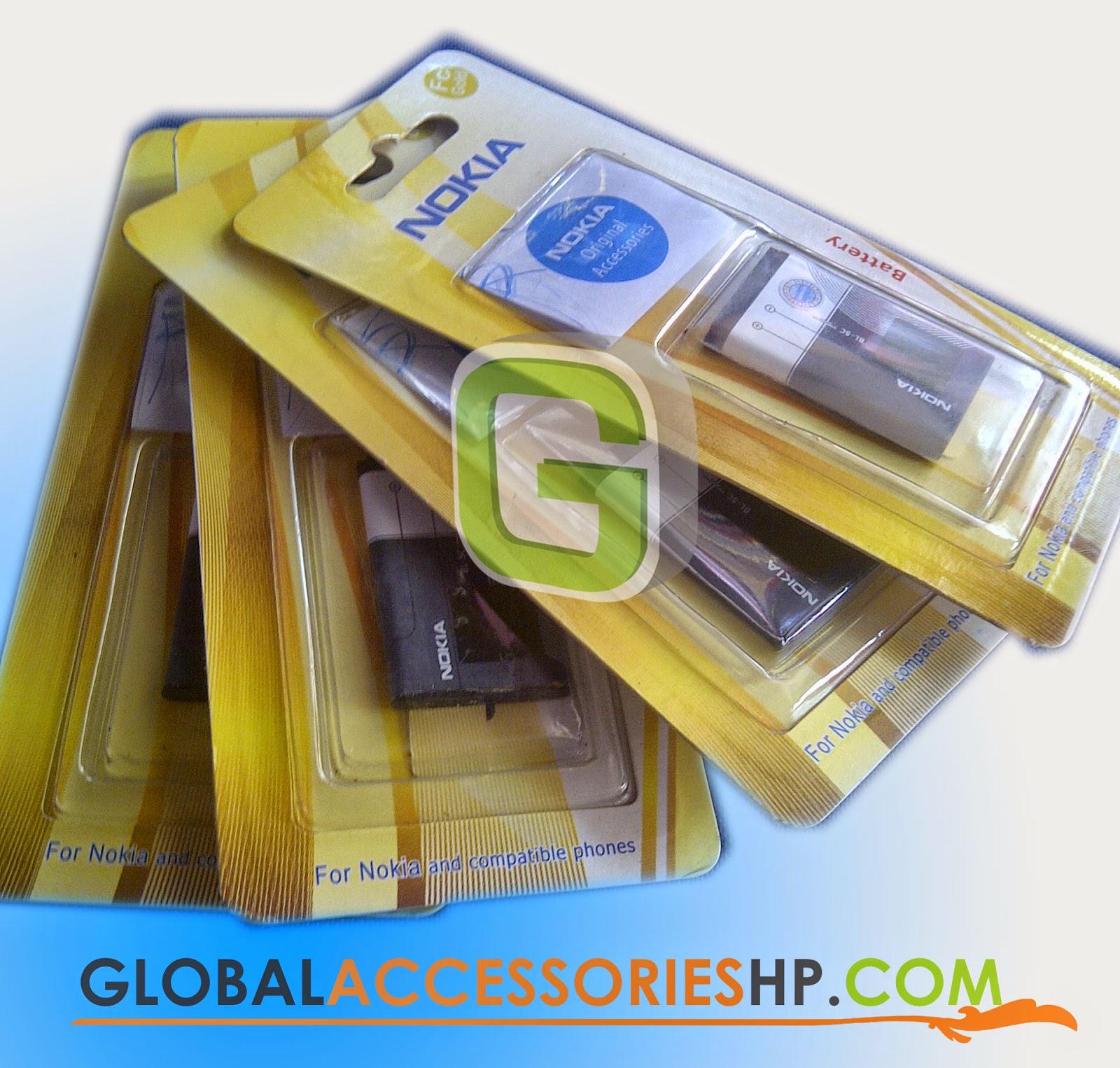 Baterai Nokia Fc Gold Bl 5c 4c Global Accessories Hp Bl5c Bl4c Model