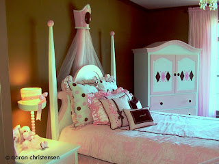 Custom Princess Bedroom by Embellishmentskids.com