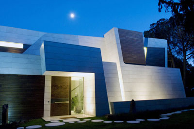 Vivienda marmol y bambu madrid espa a a cero revista esencia y espacio - Casa de bambu madrid ...