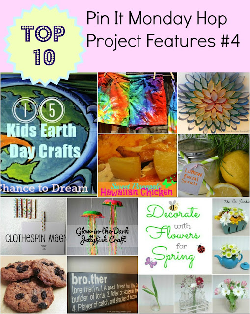Pin It Monday Hop #4 Project Features