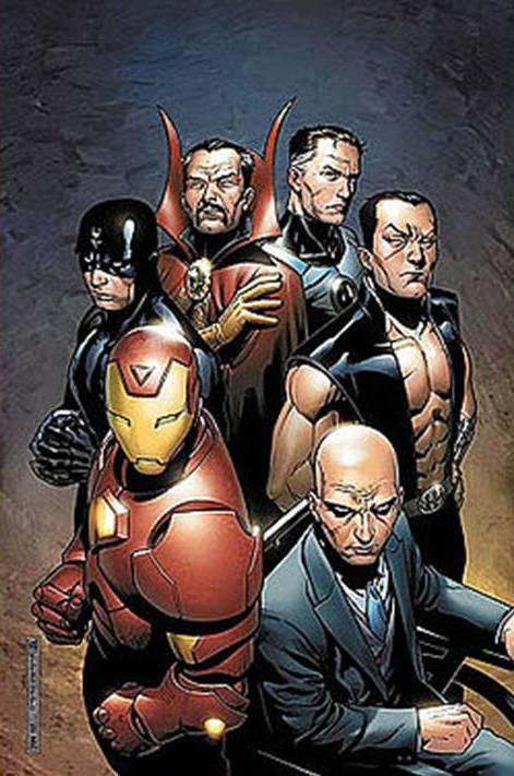 El club de ciencias. Los+illuminati+de+Marvel