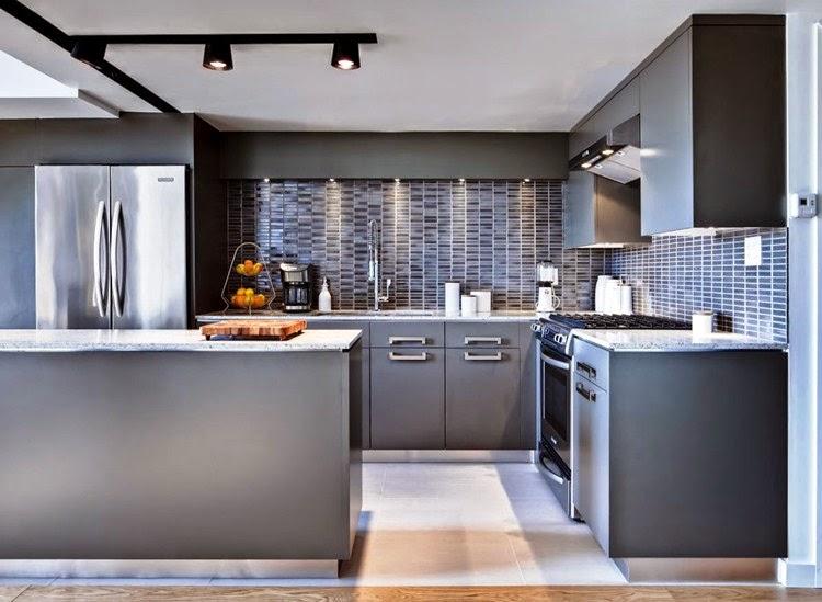 Contoh Gambar Desain Keramik Dapur Rumah Minimalis