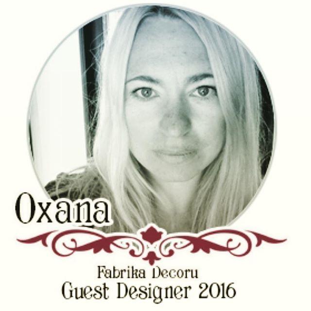 Guest Designer 2016