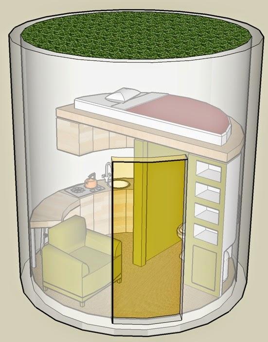 Viviendas autosuficientes energ as renovables e - Vivir en una casa prefabricada ...