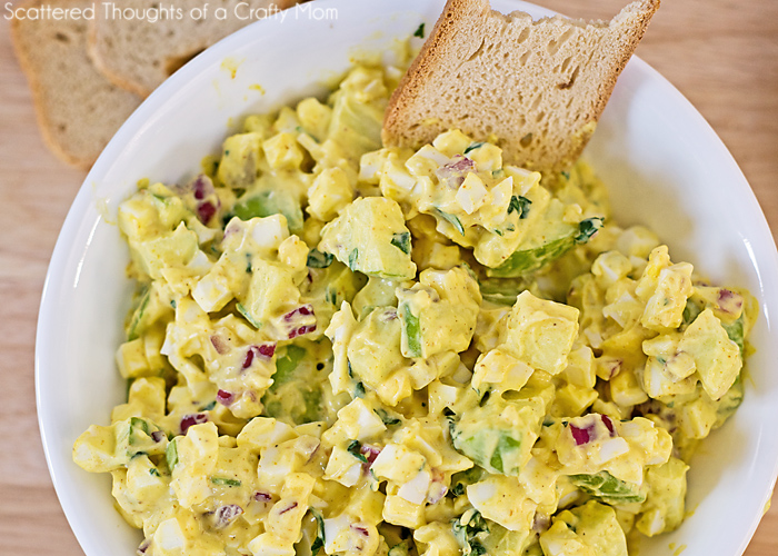 Curried Egg Salad Recipe | Scattered Thoughts of a Crafty Mom