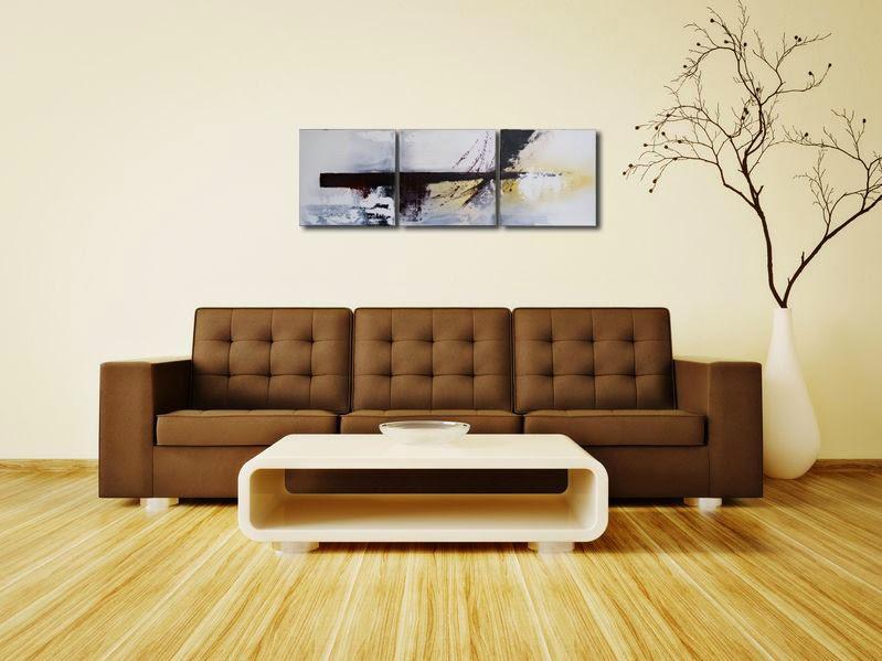 wandbilder acrylbilder leinwandbilder handgemalt: wandbild, Wohnzimmer dekoo