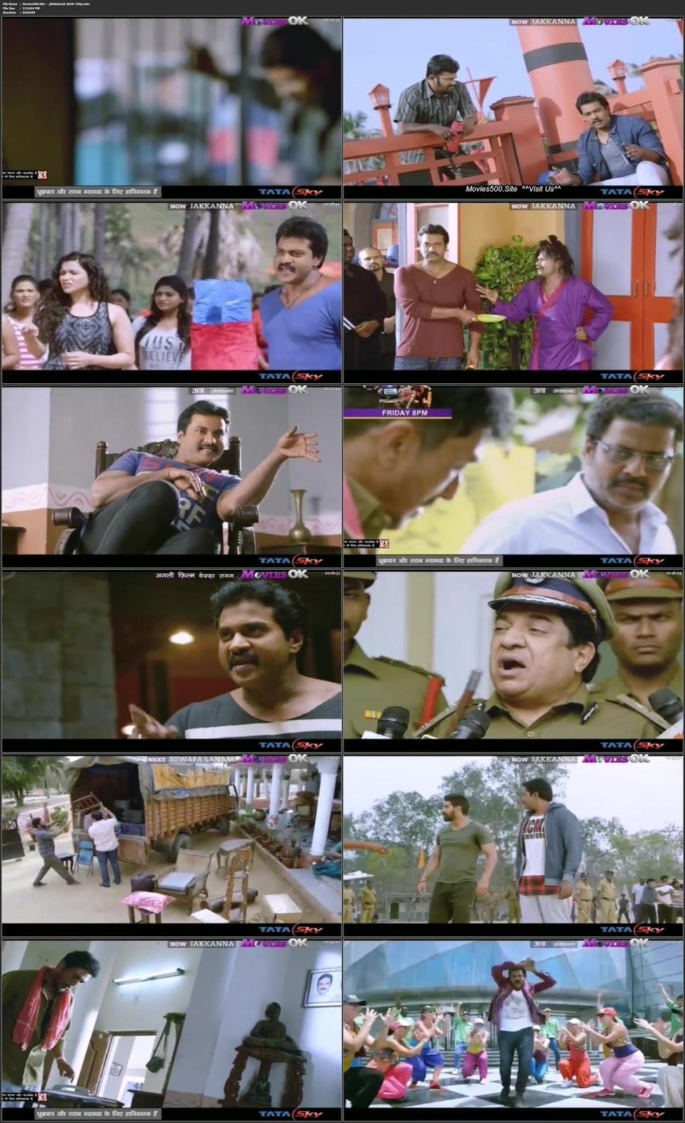 Jakkanna 2016 Hindi Dubbed Movie HDTV 720p