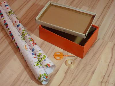 Как обклеить коробку с подарком 92