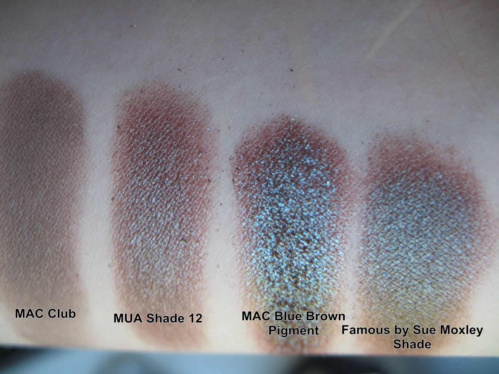 mac club eyeshadow and its dupes