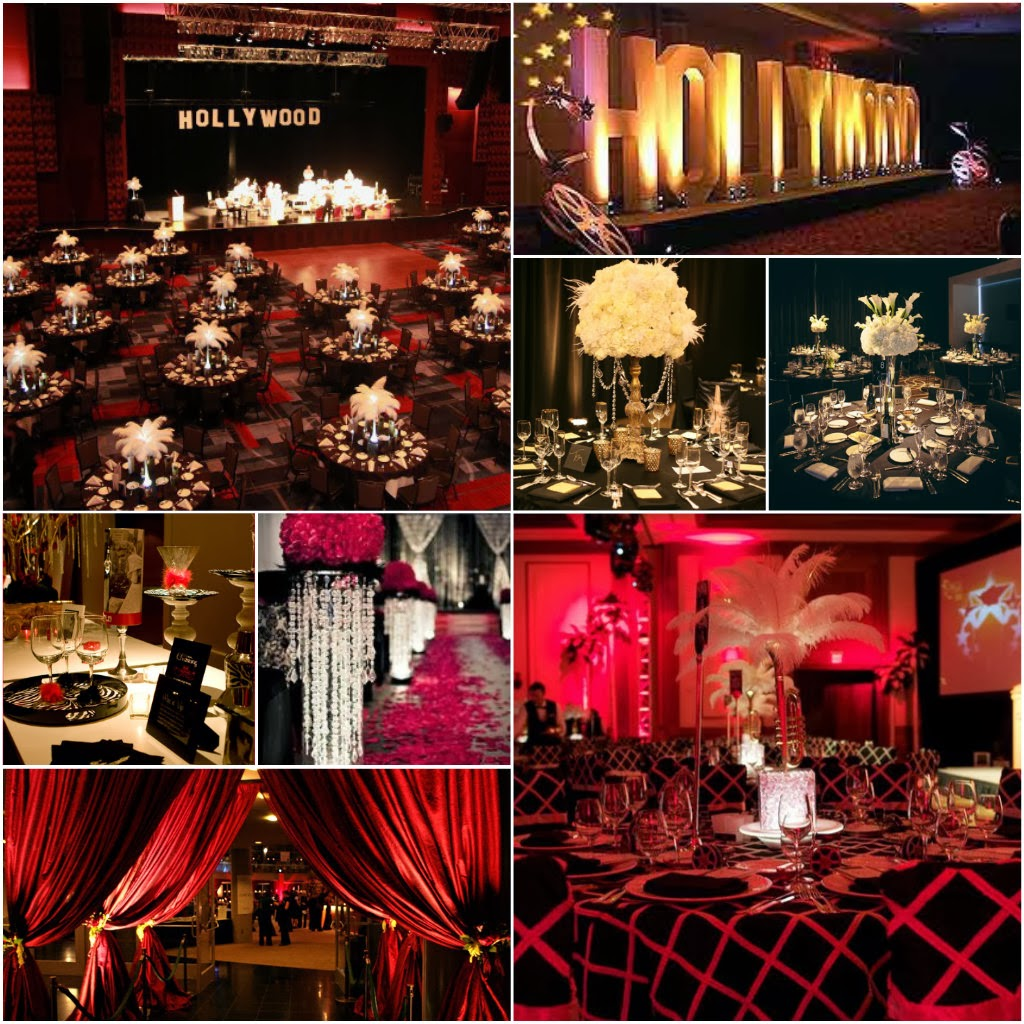 Old Hollywood Glamour Event Decor The