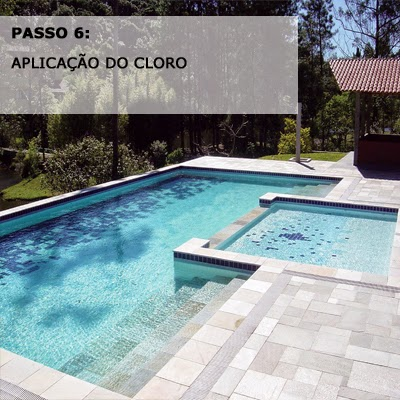 Como limpar a piscina passo a passo for Cloro piscina