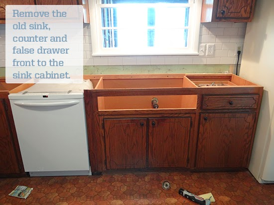 One Project at a Time - DIY Blog: Installing an Ikea Domsjo Sink ...