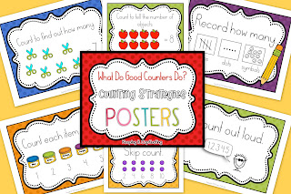 Good Counting Strategies Posters