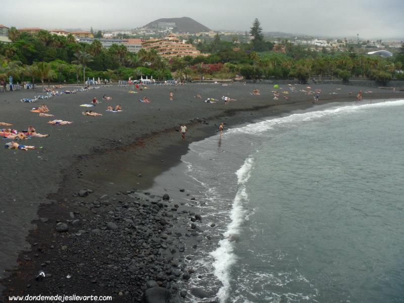 Playa del Puerto de la Cruz