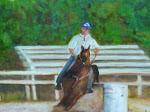 """Joel Riding Cowboy"""