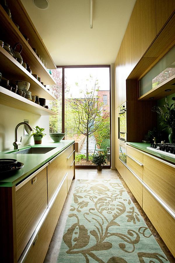 Condo Galley Kitchen Remodel Half Wall Remodle Sinks Half