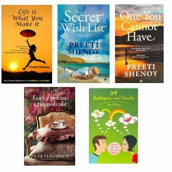Amazon: Buy Preeti Shenoy Book's upto 61% off from Rs.51