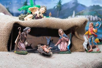 Representacion del Nacimiento de Jesus