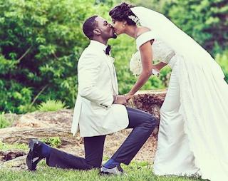Aww…Read Gbenro Ajibade's Wedding Vows To Osas.