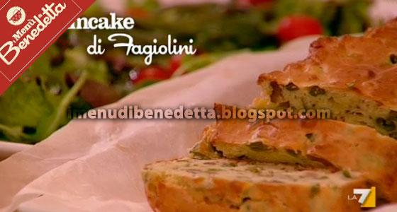 Plumcake di Fagiolini di Benedetta Parodi