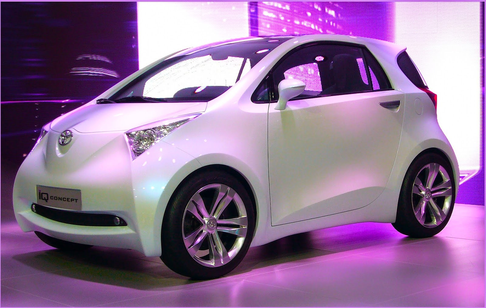 Energy efficient city cars