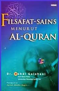 buku filsafat sains menurut al-Qur'an Dr Mehdi Golshani