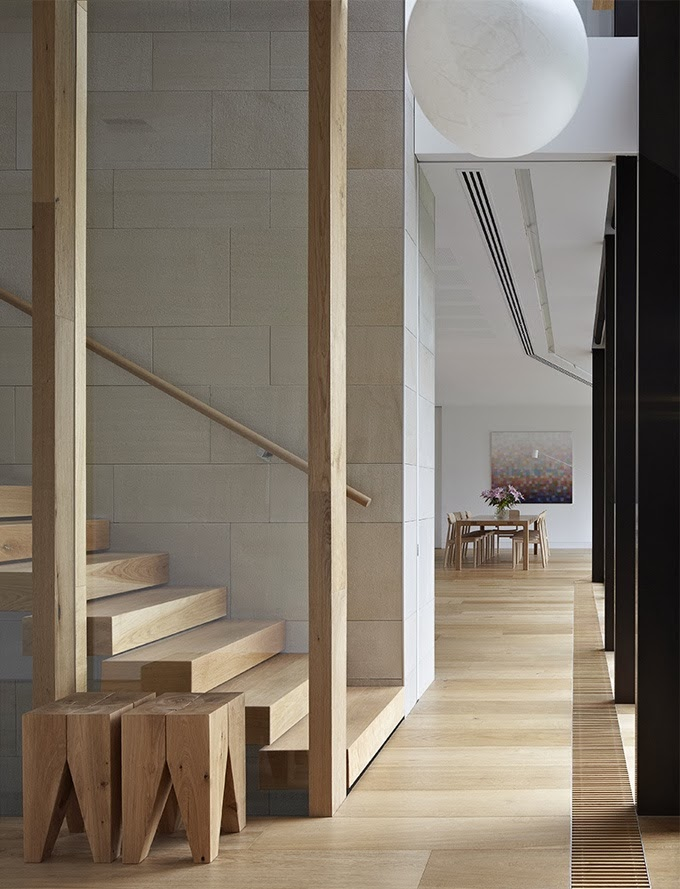 wood stairs treads