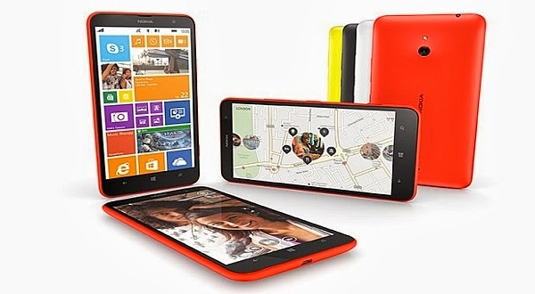 Smartphone Mid-End Lumia 1320 Made Nokia