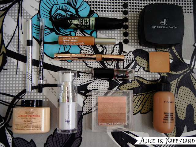Alice in Nappyland's 2013 Makeup Favorites