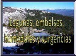 Lagunas, embalses, humedales y surgencias de Burgos