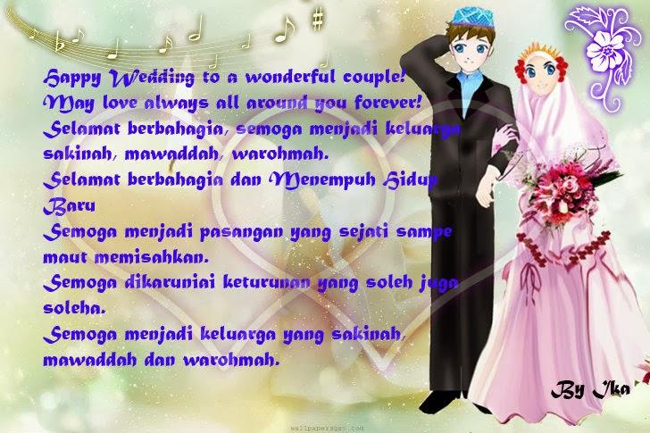 Ucapan selamat buat wedding