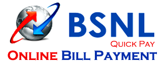 BSNL Online Payment for Broadband Landline WiMAX Telephone Bills
