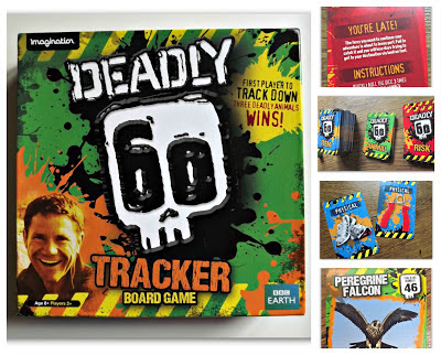 Deadly 60, animal, fact, childrens programmes, wildlife show, Deadly 60 board game, review, CBBC, Christmas ideas, older children, age 10 years +,