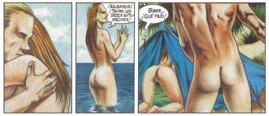 Порно комиксы италии
