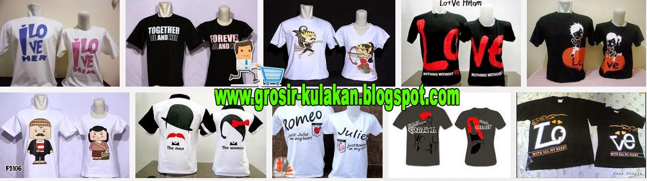 Grosir Kaos Couple